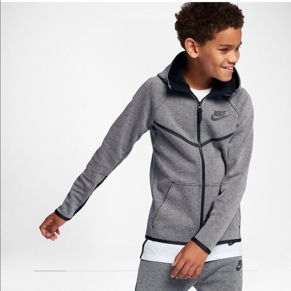 ae26d8af8b5b Nike Tech Fleece Windrunner Full Zip Hoodie
